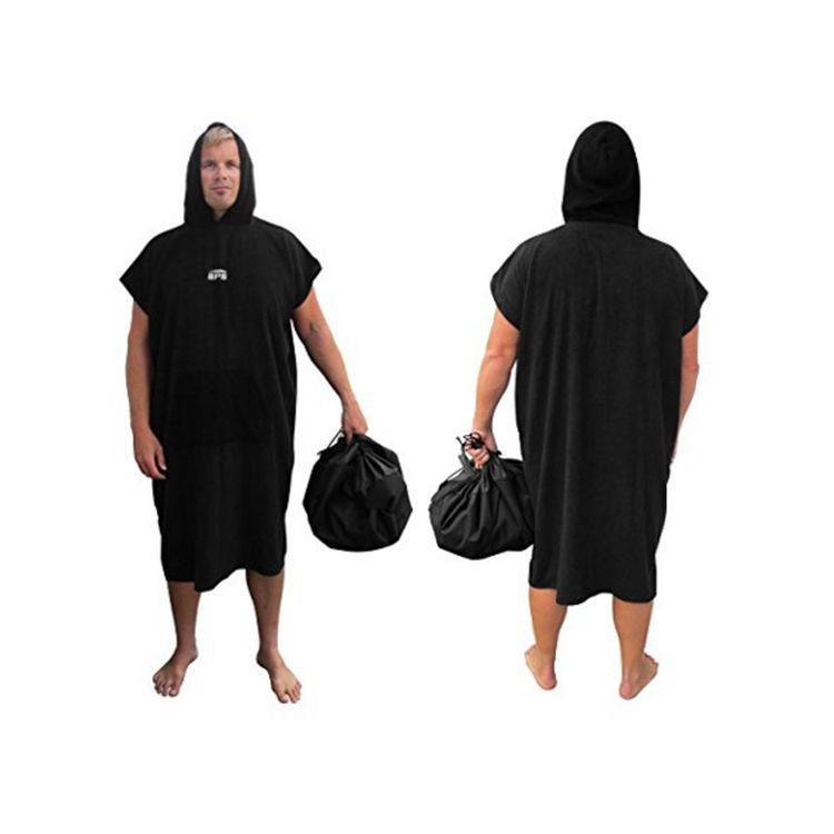 S urfคลุมด้วยผ้าเปลี่ยนเสื้อคลุมเสื้อปอนโชผ้าขนหนูชายหาดp oncho