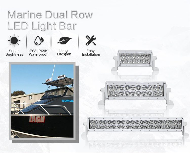 AURORA exclusive combo beam 500W 50inch Cheap led light bar offroad 4x4 led bar