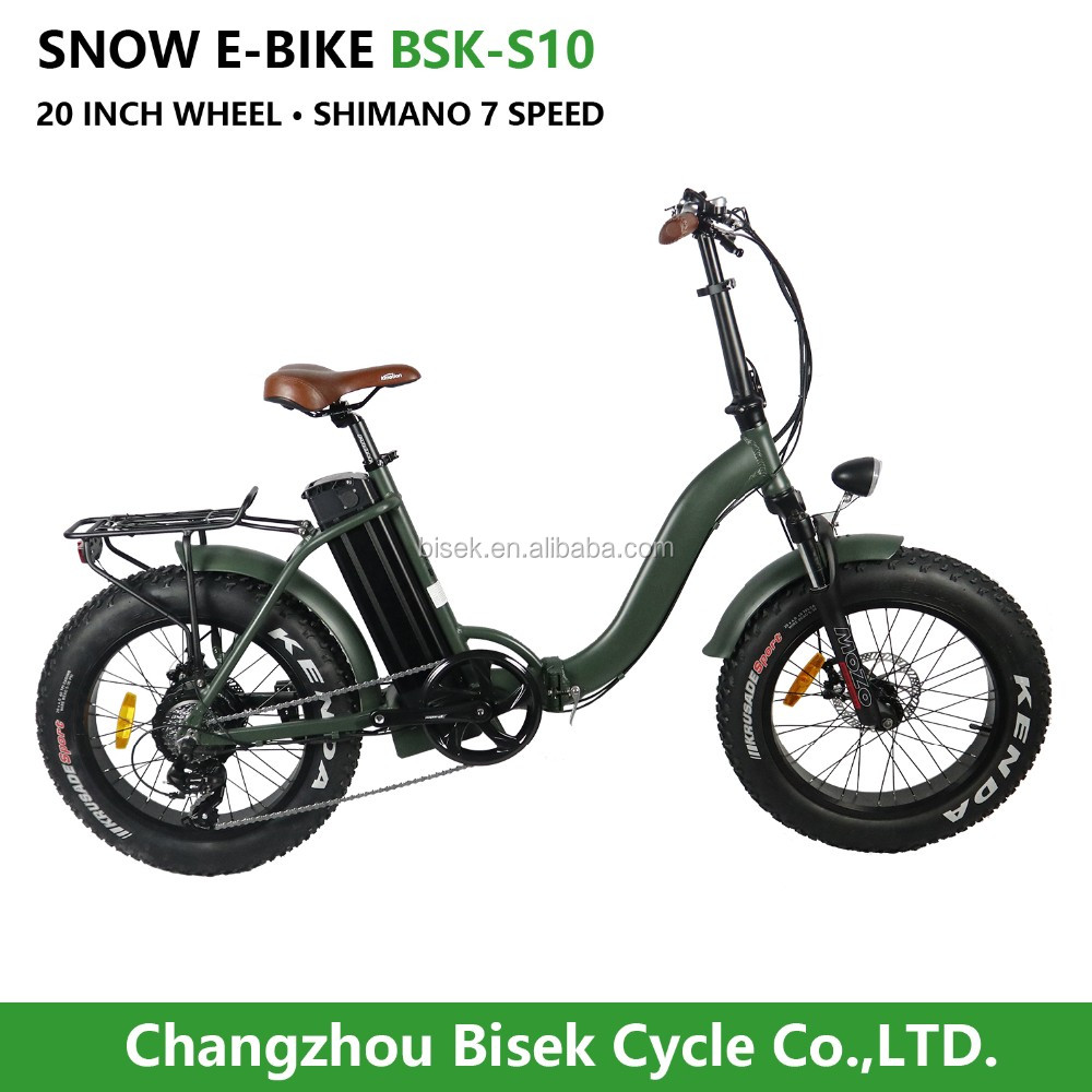 Vintage <strong>Folding</strong>/folded fat tire Electric Bike for Lady