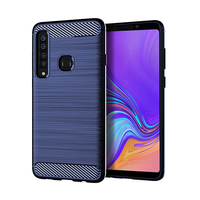 Best Quality Cheap Cell Tpu Smart Cover Mobile Carbon Fiber Case Phone For Samsung A9 A9s 2018