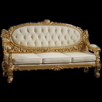 De lujo elegante muebles de sala negro sof seccional for Muebles encantadores del pais elegante