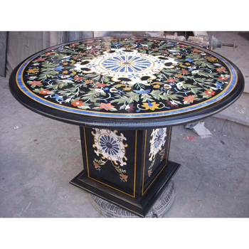 Marble Inlay Table Top, Inlay Marble Table Top Base
