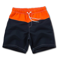 men wholesale fashion Shorts and contrast color on orange and navy with high quality