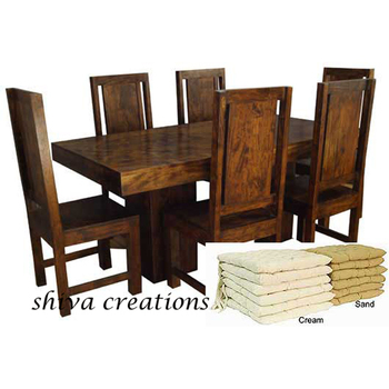 Wonderful India Wooden Dining Set Sale Online India