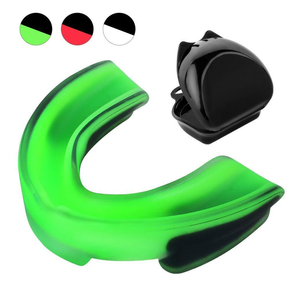 Child Adults Sports Boxing Basketball Rugby Mouth Guard Teeth Complete Protector