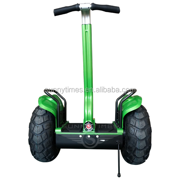 Sunnytimes 2 Wheel Balance Electric Chariot Scooter With CE /FC /ROHS 36V/72V Lithium Battery, Black/white/red/green/yellow/mix color