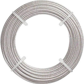 High quality steel & stainless steel wire rope from NIKKOSEIKO, with excellent abrasion resistance (wire rope cross)