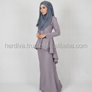 Leofar Fishtail Kebaya Muslim Dress Islamic Women Fashion Plus Size Xxs 15xl Buy Plus Size Dress Muslim Plus Size Dress Islamic Dress Plus Size