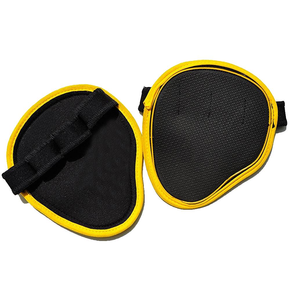 Gym Grip Pad's/4-vinger Neopreen Gymnastiek Gewichtheffen Lederen Hand Palm Bescherming Grips Pads/