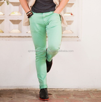 Cotton Jeans Camouflage Chino Pants Men Fashion Wear Camouflage