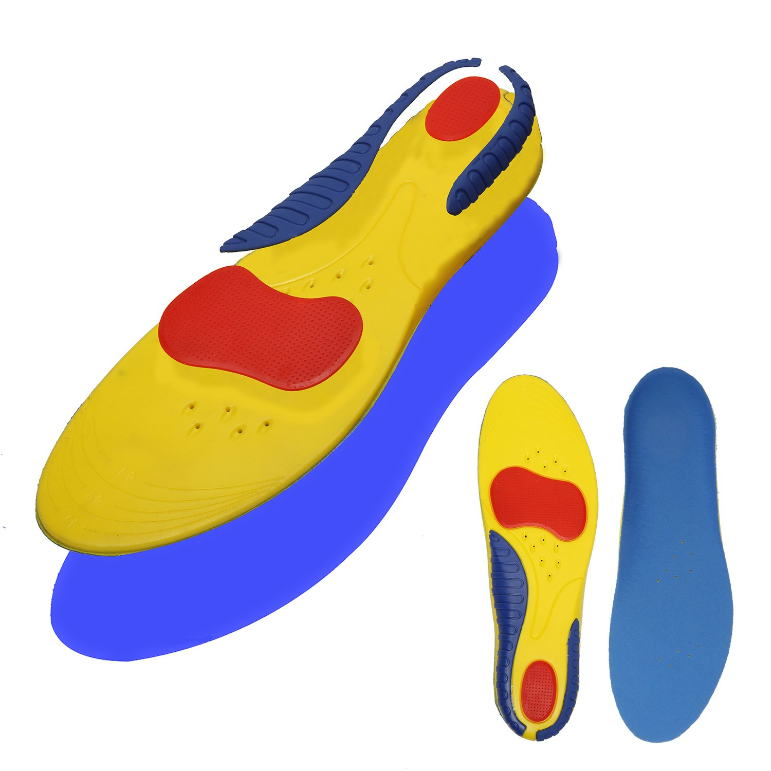 39c205e0a7 Get Quotations · Shoe Inserts Orthotics for Plantar Fasciitis - Arch  Support Relieve Feet Pain, Heel Pain -