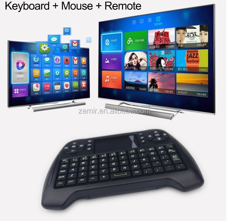 T16 Smart Wireless Air Fly Mouse Portable Mini Keyboard