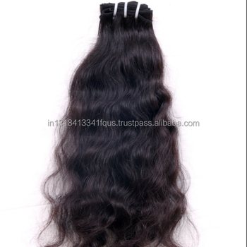 Natural Shine Real human hair Silky Soft Thickness Straight Wavy Curly