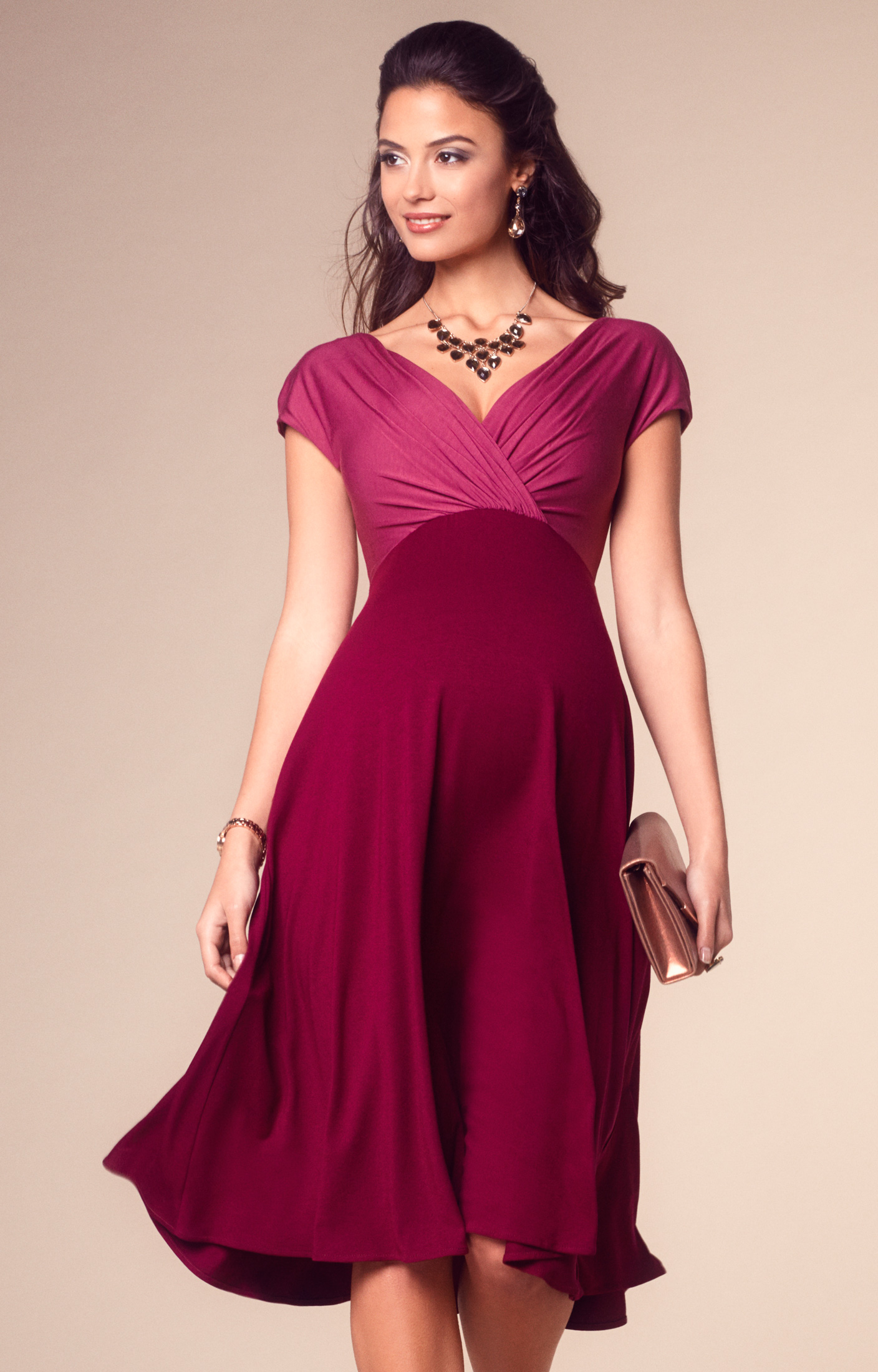 fe04f7201f383 Maternity Dresses Long Sleeve Pregnancy Dress Clothes for Pregnant Women