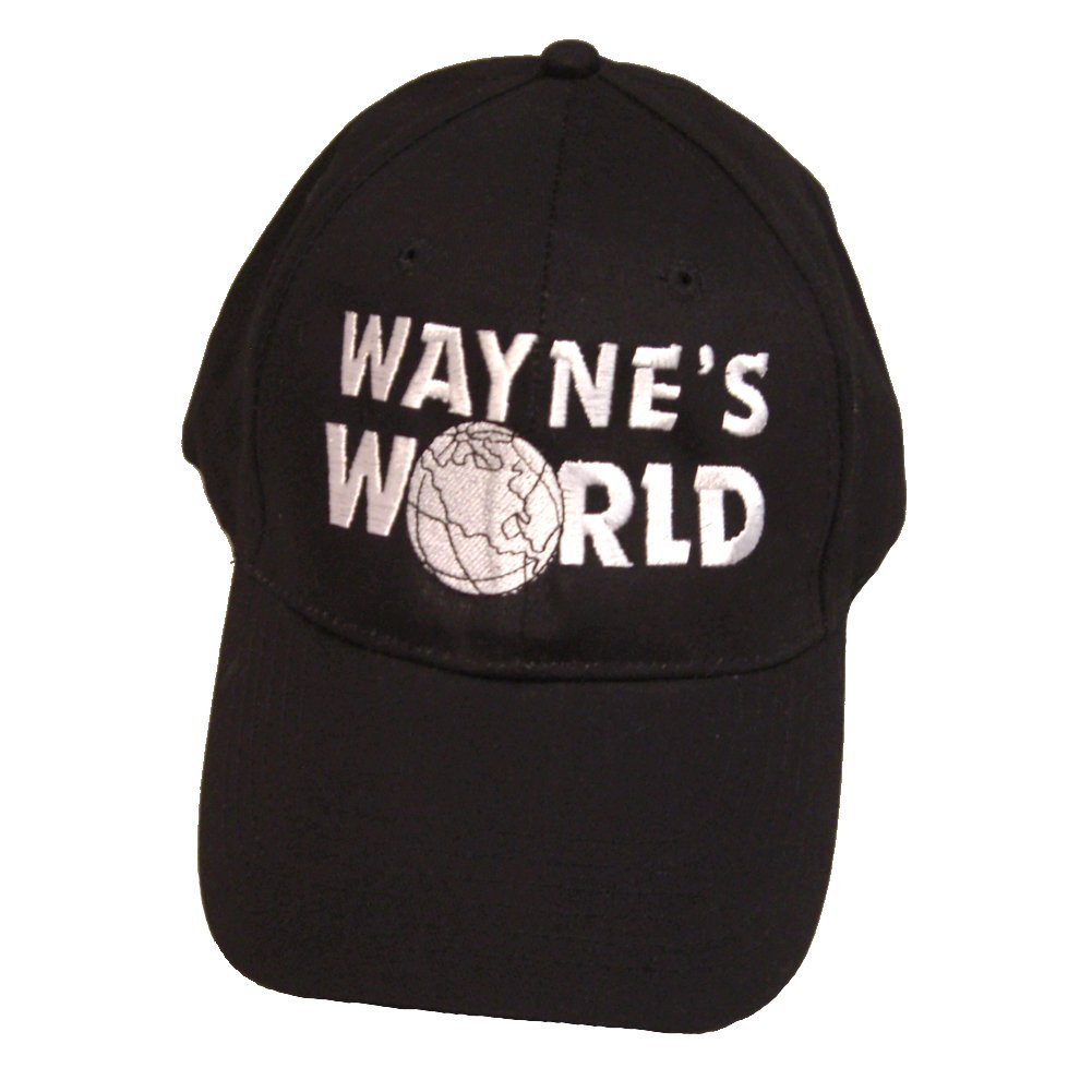 d0ef47835c9 Get Quotations · My Party Shirt Wayne s World Hat Wayne Campbell Baseball  Cap Costume Movie Mike Myers 2 SNL