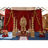 Indian Wedding Choris Mandap Set Wedding Pot pillars mandap Wedding Chuppah Decoration