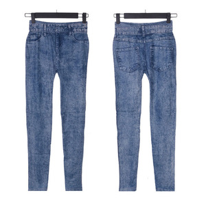 hot selling wash Women's Denim jeans pants