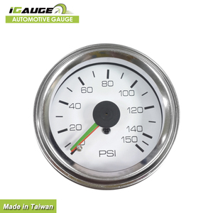 Competitive Price Traditional Pointer Automotive Psi Bar Air Pressure Gauge