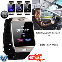 2017 New Smart Watch dz09 With Camera Bluetooth WristWatch SIM Card Smartwatch For Ios Android Phones Support Multi