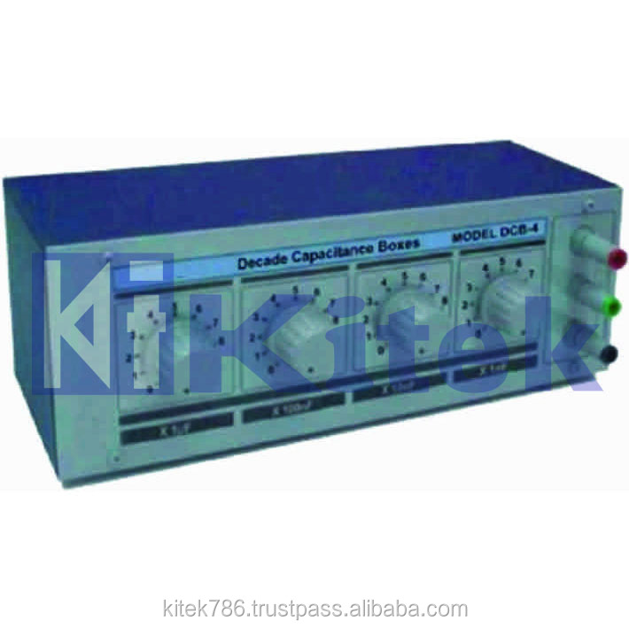 DECADE INDUCTANCE BOX / DECADE CAPACITANCE BOX / DECADE WEERSTANDKAST
