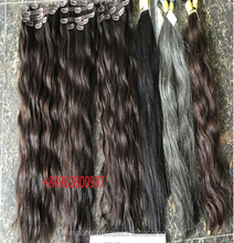 Natural color hair bundles wet and wavy hair extension weave,Cuticle Aligned No Tangle Hair