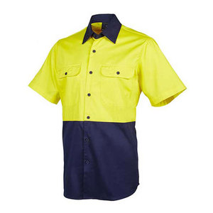 OEM design work wear working uniforms Short Sleeve
