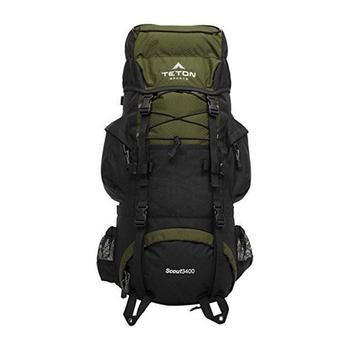 Teton Sports Scout 3400 Internal Frame Backpack for Backpacking,Hiking, Camping