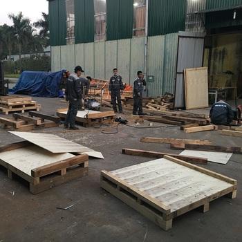 Wood Pallet For Export Goods In Vietnam - Buy Wooden ...