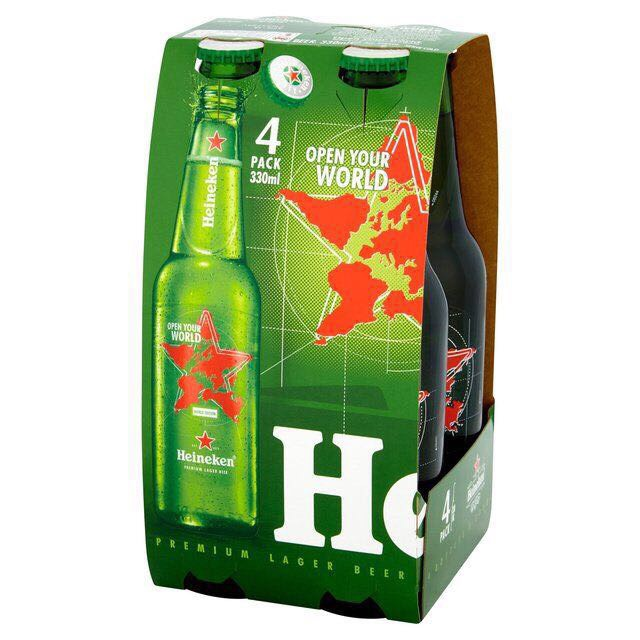 Heineken and a Variety of other Premium Beers in 250ml, 330ml, 500ml Bottles/Cans