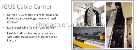 Richpeace Computerized Single Needle Quilting Machine with lifting head
