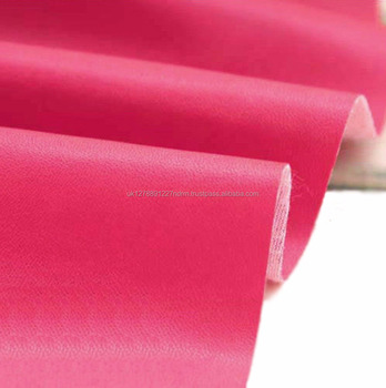 pink faux leather leatherette leather cloth upholstery fabric material uk stock fast shipping
