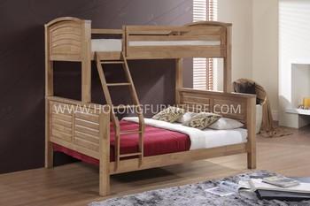 Massief Houten Bed,Stapelbed Meubels,Houten Bed,Moderne Ontwerp ...
