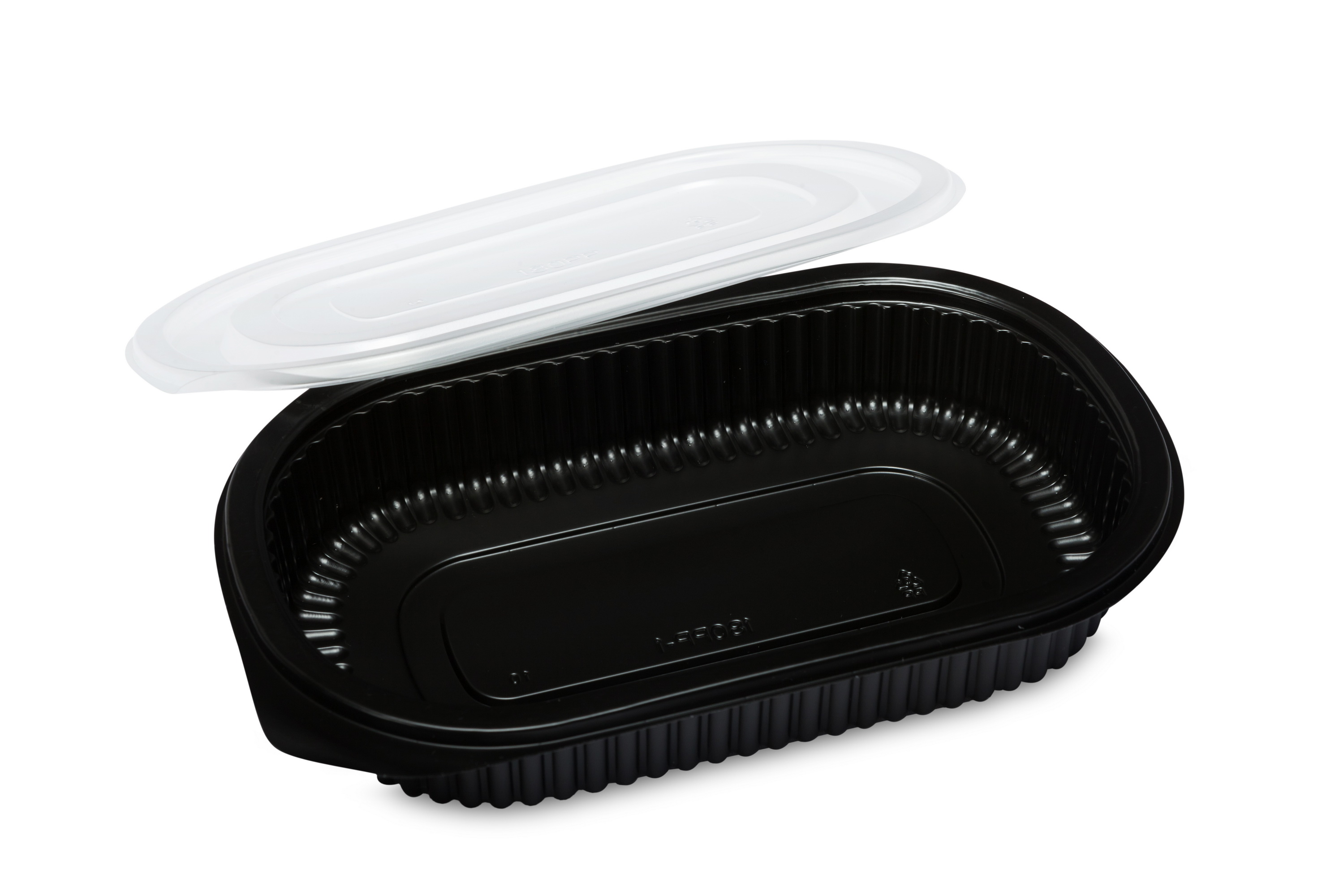 Microwavable PP clear plastic disposable food container for sealing