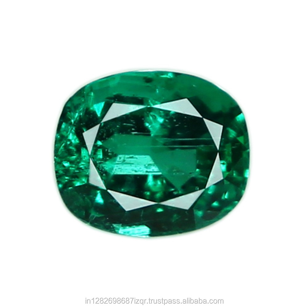 AAA+ Gem Quality Beautiful 6.02 Carat Natural Zambian Emerald Loose Gemstones