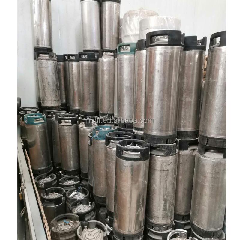 Kullanılan bira fıçısı 10L 19L 20L mini fıçı top kilit için bira ekipmanı Taslak Bira Yapma Makinesi