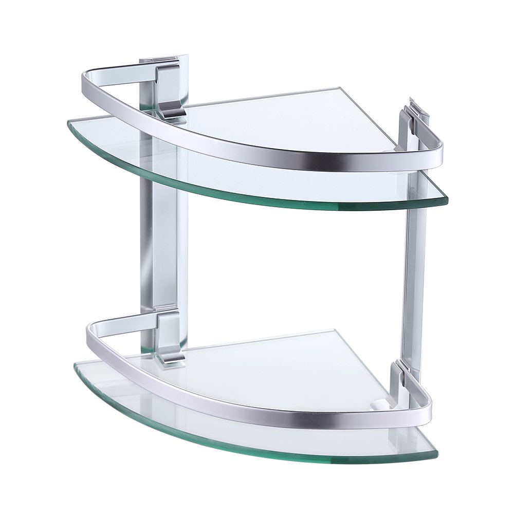 Cheap Corner Glass Shower Shelf, find Corner Glass Shower Shelf ...