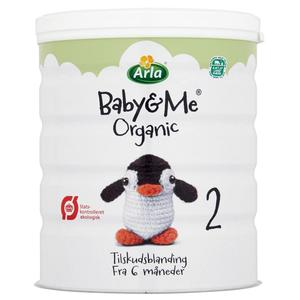ARLA Organic Baby milk powder from Denmark