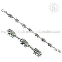 Beautiful plain silver bracelet 925 sterling silver bracelet wholesale silver jewelry supplier