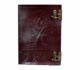 Tree Of Life C Lock Embossed Brown Leather Journal Note Book dairy