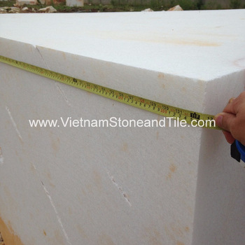 Large Stone Block, Vietnam Rough White Marble Blocks, Marble Stone Blocks