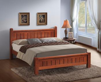 Letti camera da letto mobili in legno massello di legno bedframe