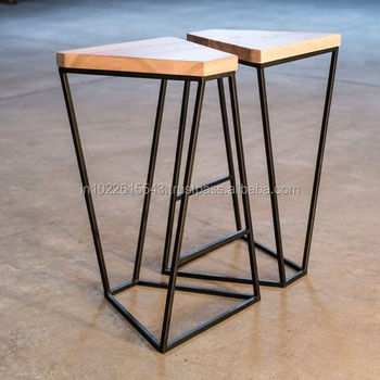 Astounding Industrial Metal Wood Bar Stools Buy Antique Metal Industrial Bar Stools Cheap Commercial Bar Stools Reclaimed Wood Top Metal Base Cheap Bar Stools Creativecarmelina Interior Chair Design Creativecarmelinacom