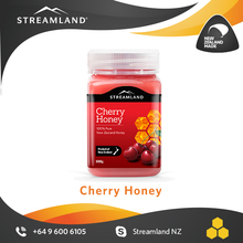 New Zealand honey for her Ladies Love Pure Natural honey delicious Cherry honey