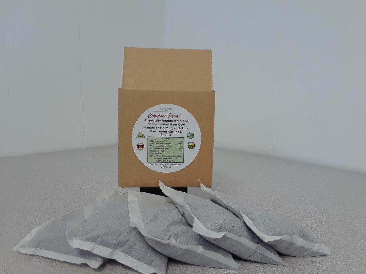 Brew Bag Refills For Compost Plus Tea Makers 5