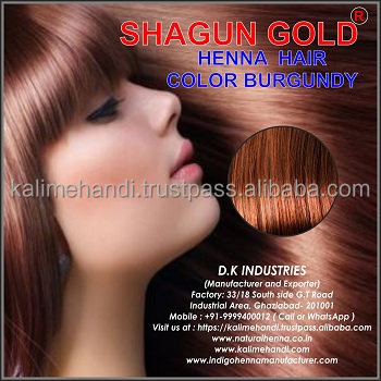 Burgundy Henna Hair Color Powder Of India Buy Burgundy Henna Hair