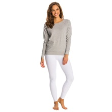 Frauen Legging Volle <span class=keywords><strong>Länge</strong></span> Weiß Legging Mit Sheer Mesh frauen Weiß Legging Frauen Yoga Hosen