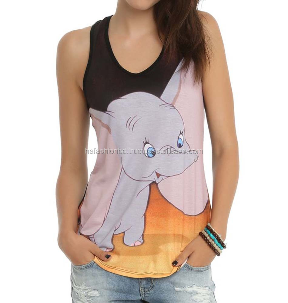 Hot sale and latest design women's tank tops