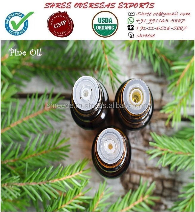 2017 Widely Selling Organic Pine Oil from New Delhi India