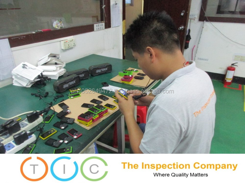 Pre-Shipment Inspection for Mobile Phone in China