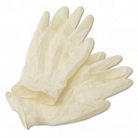 Hot Sale Powder free Disposable Latex Examination Gloves with Factory Price